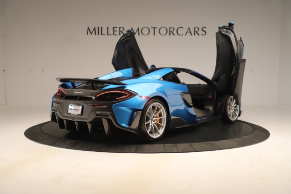 New 2020 McLaren 600LT SPIDER Convertible for sale $303,059 at Maserati of Greenwich in Greenwich CT 06830 22
