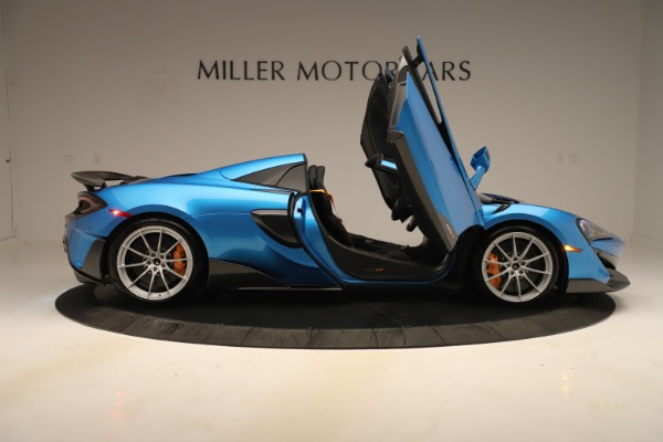 New 2020 McLaren 600LT SPIDER Convertible for sale $303,059 at Maserati of Greenwich in Greenwich CT 06830 23