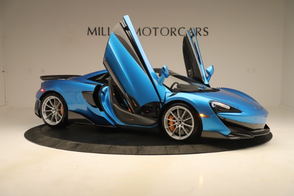 New 2020 McLaren 600LT SPIDER Convertible for sale $303,059 at Maserati of Greenwich in Greenwich CT 06830 24