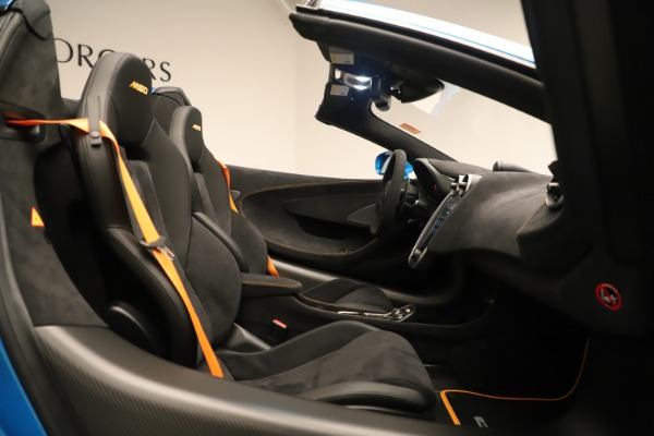New 2020 McLaren 600LT SPIDER Convertible for sale $303,059 at Maserati of Greenwich in Greenwich CT 06830 25