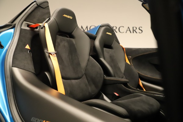 New 2020 McLaren 600LT SPIDER Convertible for sale $303,059 at Maserati of Greenwich in Greenwich CT 06830 26