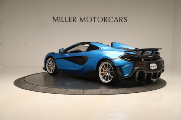 New 2020 McLaren 600LT SPIDER Convertible for sale $303,059 at Maserati of Greenwich in Greenwich CT 06830 3