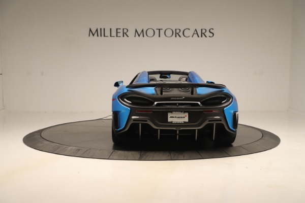 New 2020 McLaren 600LT SPIDER Convertible for sale $303,059 at Maserati of Greenwich in Greenwich CT 06830 4