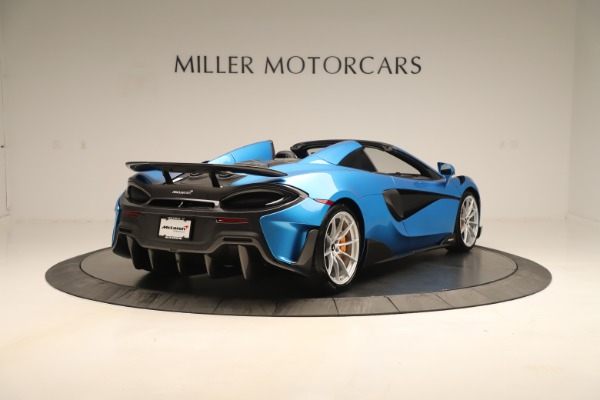 New 2020 McLaren 600LT SPIDER Convertible for sale $303,059 at Maserati of Greenwich in Greenwich CT 06830 5