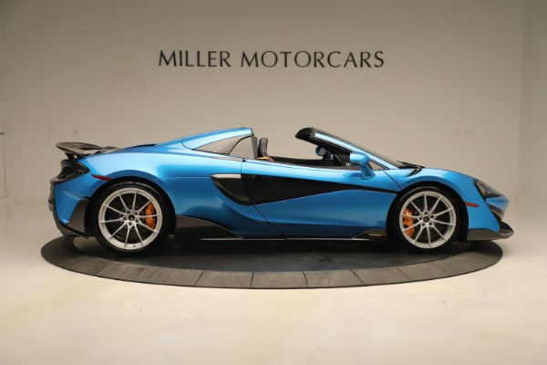 New 2020 McLaren 600LT SPIDER Convertible for sale $303,059 at Maserati of Greenwich in Greenwich CT 06830 6