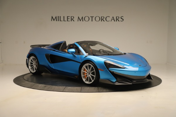 New 2020 McLaren 600LT SPIDER Convertible for sale $303,059 at Maserati of Greenwich in Greenwich CT 06830 7