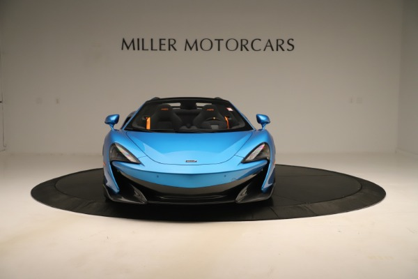 New 2020 McLaren 600LT SPIDER Convertible for sale $303,059 at Maserati of Greenwich in Greenwich CT 06830 8