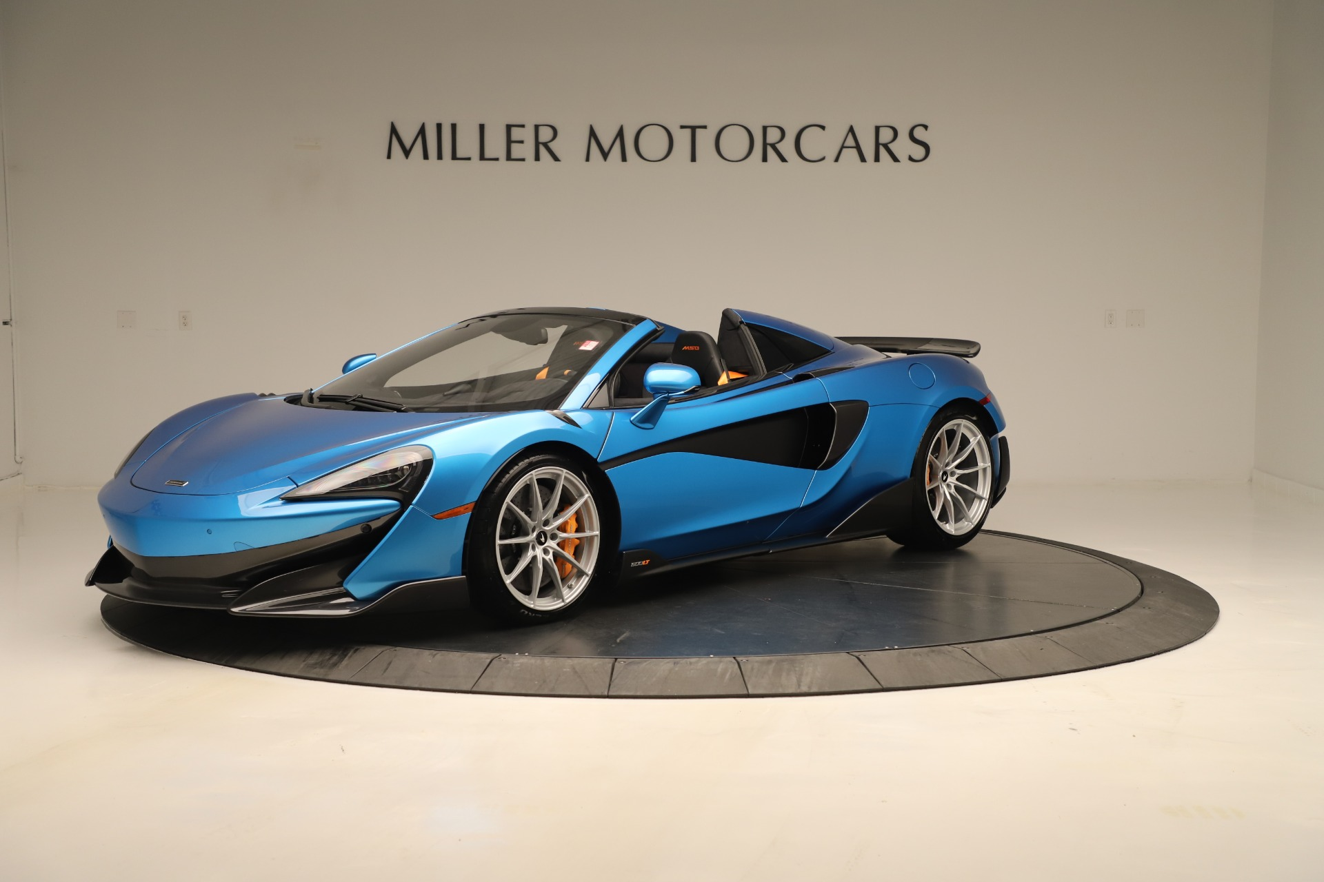 New 2020 McLaren 600LT SPIDER Convertible for sale $303,059 at Maserati of Greenwich in Greenwich CT 06830 1
