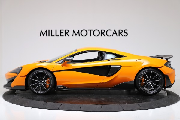 New 2019 McLaren 600LT Coupe for sale $279,310 at Maserati of Greenwich in Greenwich CT 06830 3