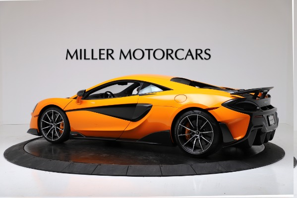 New 2019 McLaren 600LT Coupe for sale $279,310 at Maserati of Greenwich in Greenwich CT 06830 4