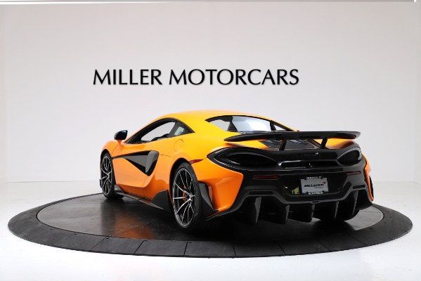 New 2019 McLaren 600LT Coupe for sale $279,310 at Maserati of Greenwich in Greenwich CT 06830 5