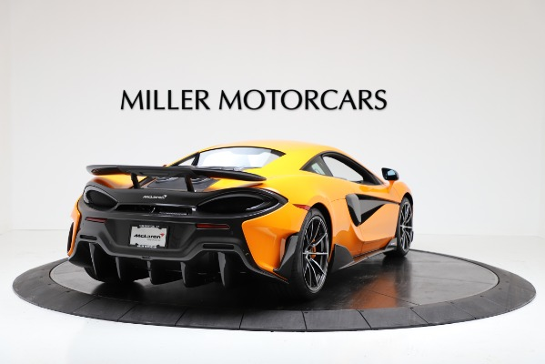 New 2019 McLaren 600LT Coupe for sale $279,310 at Maserati of Greenwich in Greenwich CT 06830 7