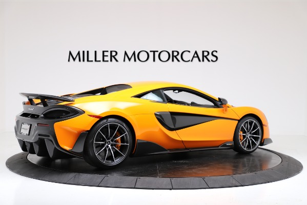 New 2019 McLaren 600LT Coupe for sale $279,310 at Maserati of Greenwich in Greenwich CT 06830 8
