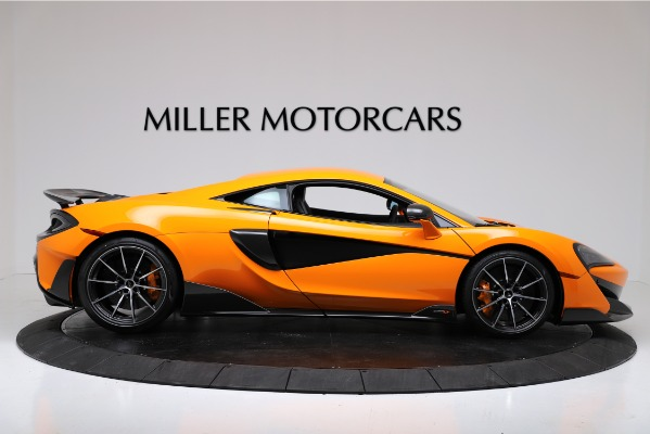 New 2019 McLaren 600LT Coupe for sale $279,310 at Maserati of Greenwich in Greenwich CT 06830 9