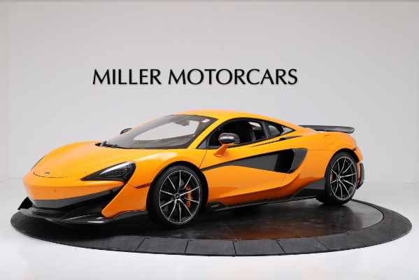 New 2019 McLaren 600LT Coupe for sale $279,310 at Maserati of Greenwich in Greenwich CT 06830 1