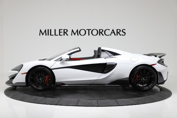 New 2020 McLaren 600LT Convertible for sale Sold at Maserati of Greenwich in Greenwich CT 06830 3