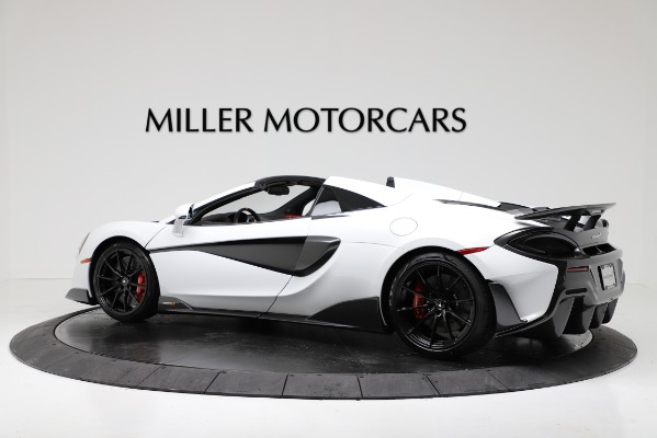 New 2020 McLaren 600LT Convertible for sale Sold at Maserati of Greenwich in Greenwich CT 06830 4