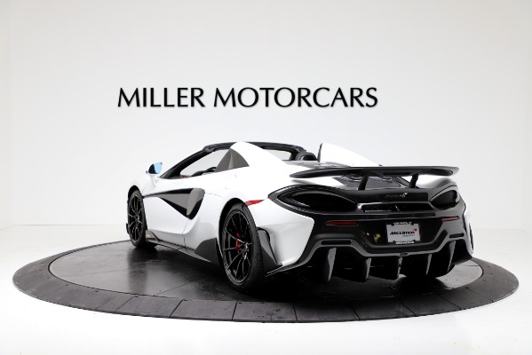 New 2020 McLaren 600LT Convertible for sale Sold at Maserati of Greenwich in Greenwich CT 06830 5