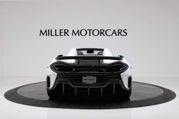 New 2020 McLaren 600LT Convertible for sale Sold at Maserati of Greenwich in Greenwich CT 06830 6