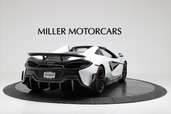 New 2020 McLaren 600LT Convertible for sale Sold at Maserati of Greenwich in Greenwich CT 06830 7