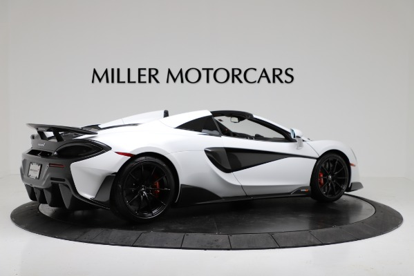 New 2020 McLaren 600LT Convertible for sale Sold at Maserati of Greenwich in Greenwich CT 06830 8