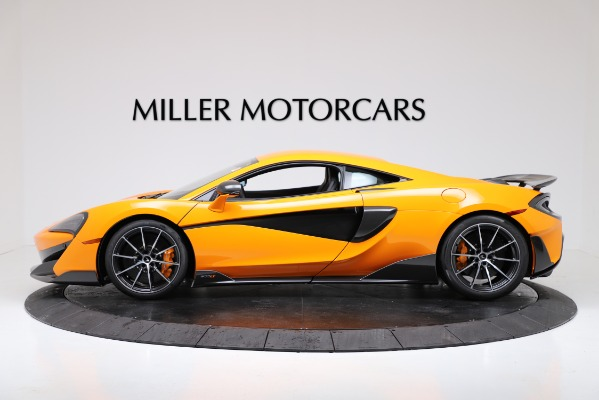 New 2019 McLaren 600LT for sale $279,310 at Maserati of Greenwich in Greenwich CT 06830 3