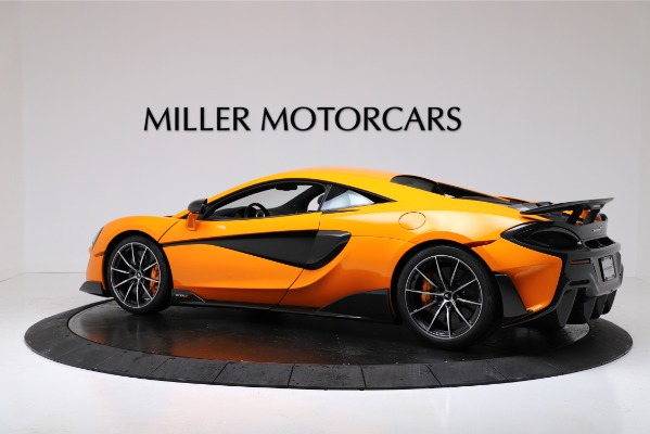 New 2019 McLaren 600LT for sale $279,310 at Maserati of Greenwich in Greenwich CT 06830 4