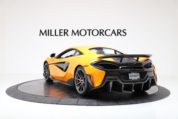 New 2019 McLaren 600LT for sale $279,310 at Maserati of Greenwich in Greenwich CT 06830 5