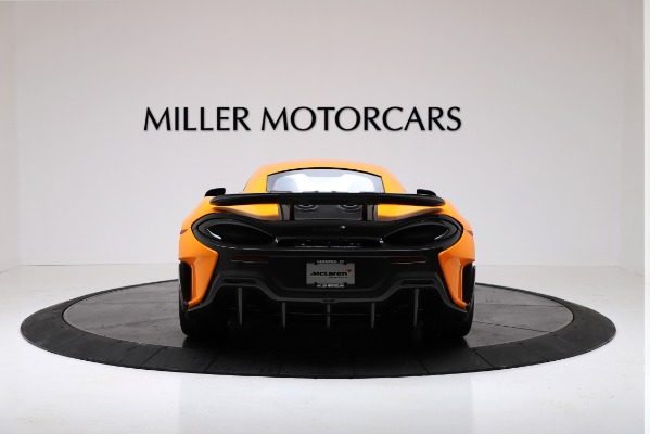 New 2019 McLaren 600LT for sale $279,310 at Maserati of Greenwich in Greenwich CT 06830 6