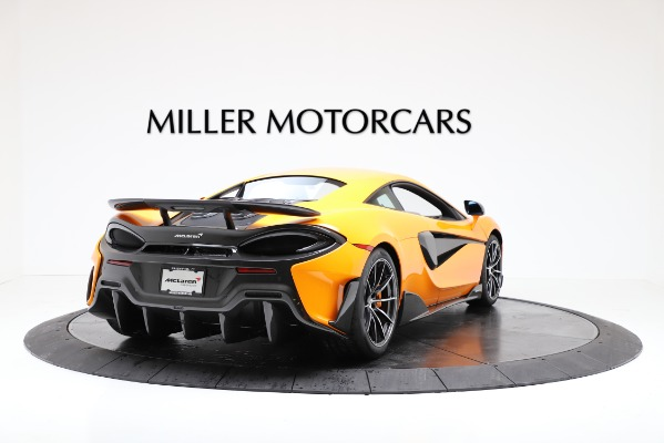 New 2019 McLaren 600LT for sale $279,310 at Maserati of Greenwich in Greenwich CT 06830 7