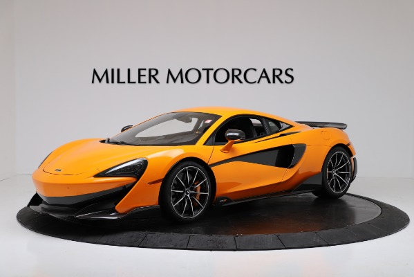 New 2019 McLaren 600LT for sale $279,310 at Maserati of Greenwich in Greenwich CT 06830 1