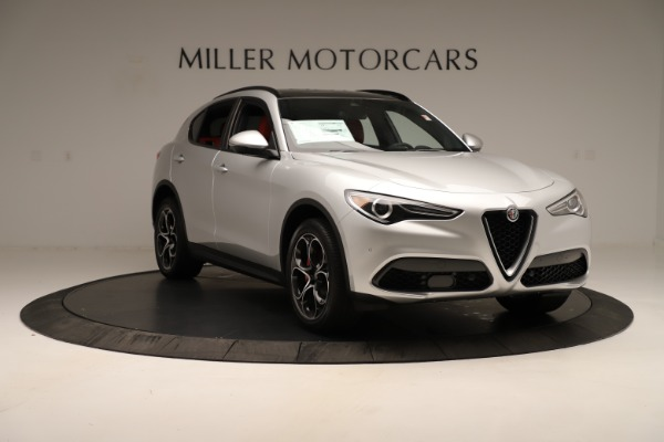New 2019 Alfa Romeo Stelvio Ti Sport Q4 for sale Sold at Maserati of Greenwich in Greenwich CT 06830 11