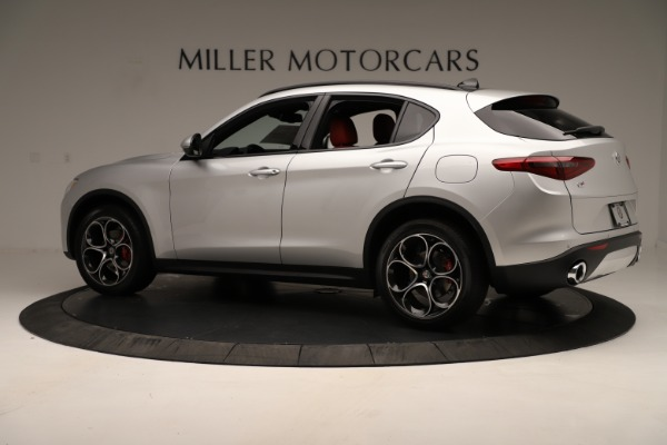 New 2019 Alfa Romeo Stelvio Ti Sport Q4 for sale Sold at Maserati of Greenwich in Greenwich CT 06830 4