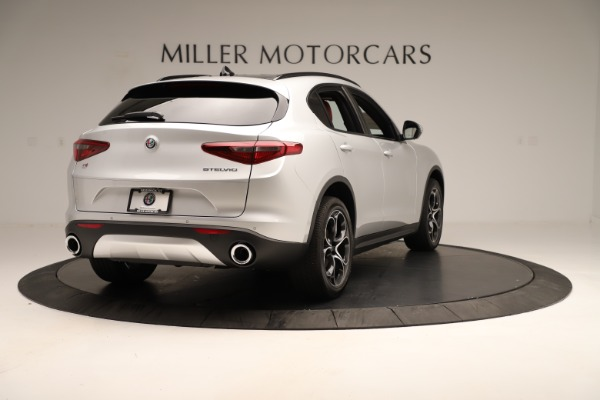 New 2019 Alfa Romeo Stelvio Ti Sport Q4 for sale Sold at Maserati of Greenwich in Greenwich CT 06830 7