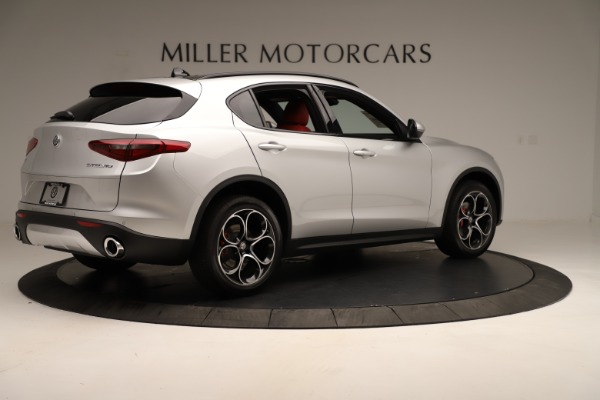 New 2019 Alfa Romeo Stelvio Ti Sport Q4 for sale Sold at Maserati of Greenwich in Greenwich CT 06830 8