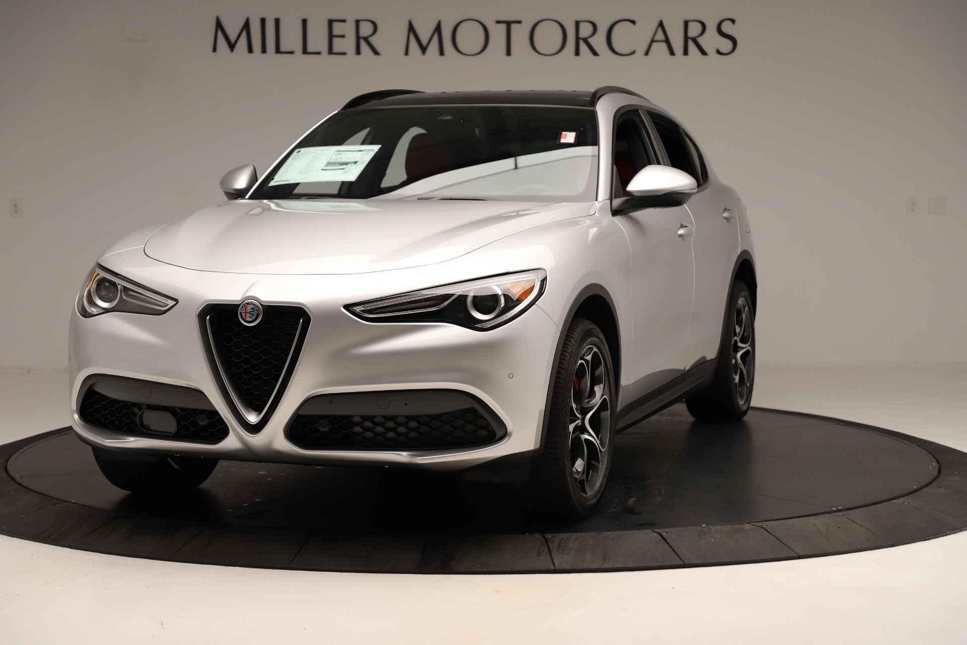 New 2019 Alfa Romeo Stelvio Ti Sport Q4 for sale Sold at Maserati of Greenwich in Greenwich CT 06830 1