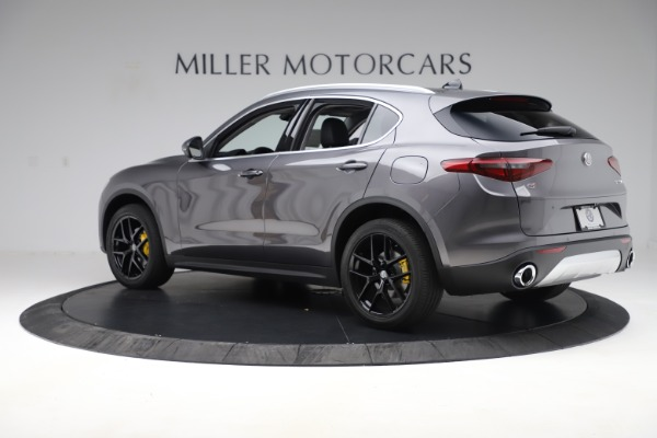 New 2019 Alfa Romeo Stelvio Ti Q4 for sale Sold at Maserati of Greenwich in Greenwich CT 06830 4