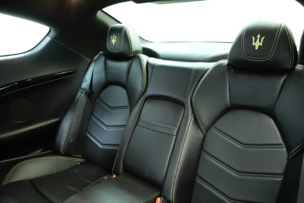 Used 2013 Maserati GranTurismo Sport for sale Sold at Maserati of Greenwich in Greenwich CT 06830 18