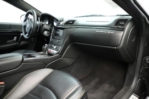 Used 2013 Maserati GranTurismo Sport for sale Sold at Maserati of Greenwich in Greenwich CT 06830 19