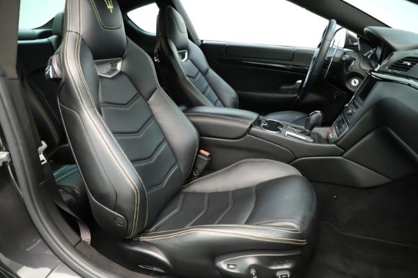 Used 2013 Maserati GranTurismo Sport for sale Sold at Maserati of Greenwich in Greenwich CT 06830 21