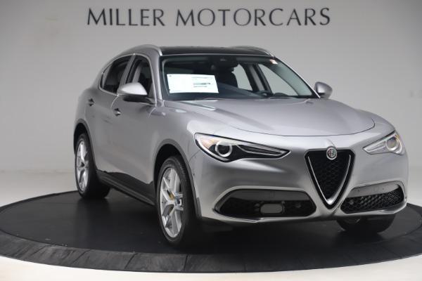 New 2019 Alfa Romeo Stelvio Ti Lusso Q4 for sale Sold at Maserati of Greenwich in Greenwich CT 06830 11