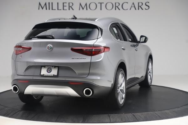 New 2019 Alfa Romeo Stelvio Ti Lusso Q4 for sale Sold at Maserati of Greenwich in Greenwich CT 06830 7