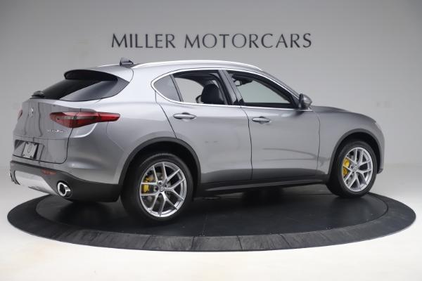 New 2019 Alfa Romeo Stelvio Ti Lusso Q4 for sale Sold at Maserati of Greenwich in Greenwich CT 06830 8