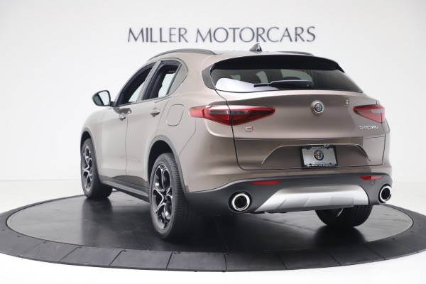 New 2019 Alfa Romeo Stelvio Ti Sport Q4 for sale Sold at Maserati of Greenwich in Greenwich CT 06830 5