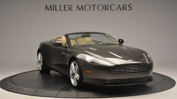 Used 2012 Aston Martin Virage Convertible for sale Sold at Maserati of Greenwich in Greenwich CT 06830 11