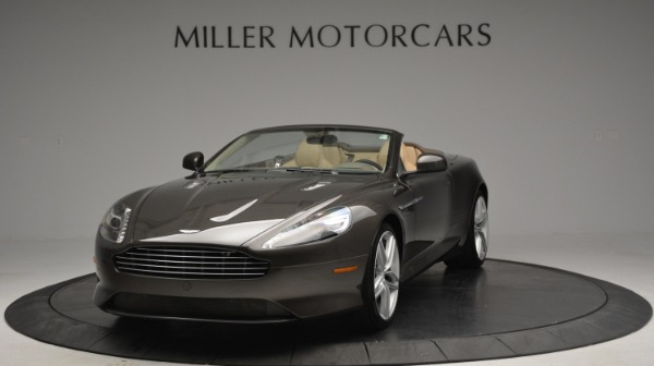Used 2012 Aston Martin Virage Convertible for sale Sold at Maserati of Greenwich in Greenwich CT 06830 13