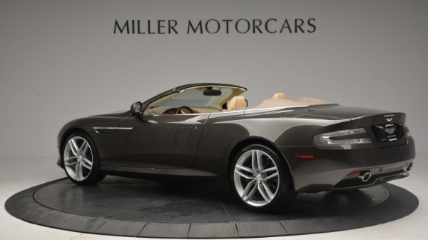 Used 2012 Aston Martin Virage Convertible for sale Sold at Maserati of Greenwich in Greenwich CT 06830 4