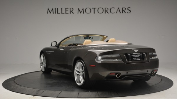Used 2012 Aston Martin Virage Convertible for sale Sold at Maserati of Greenwich in Greenwich CT 06830 5