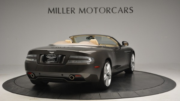 Used 2012 Aston Martin Virage Convertible for sale Sold at Maserati of Greenwich in Greenwich CT 06830 7