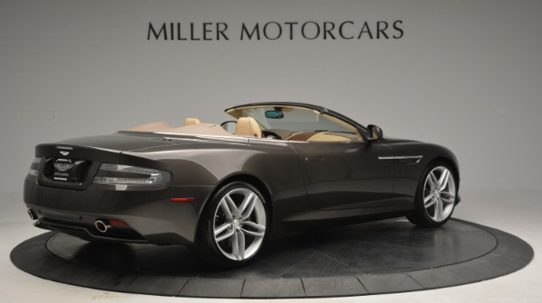 Used 2012 Aston Martin Virage Convertible for sale Sold at Maserati of Greenwich in Greenwich CT 06830 8